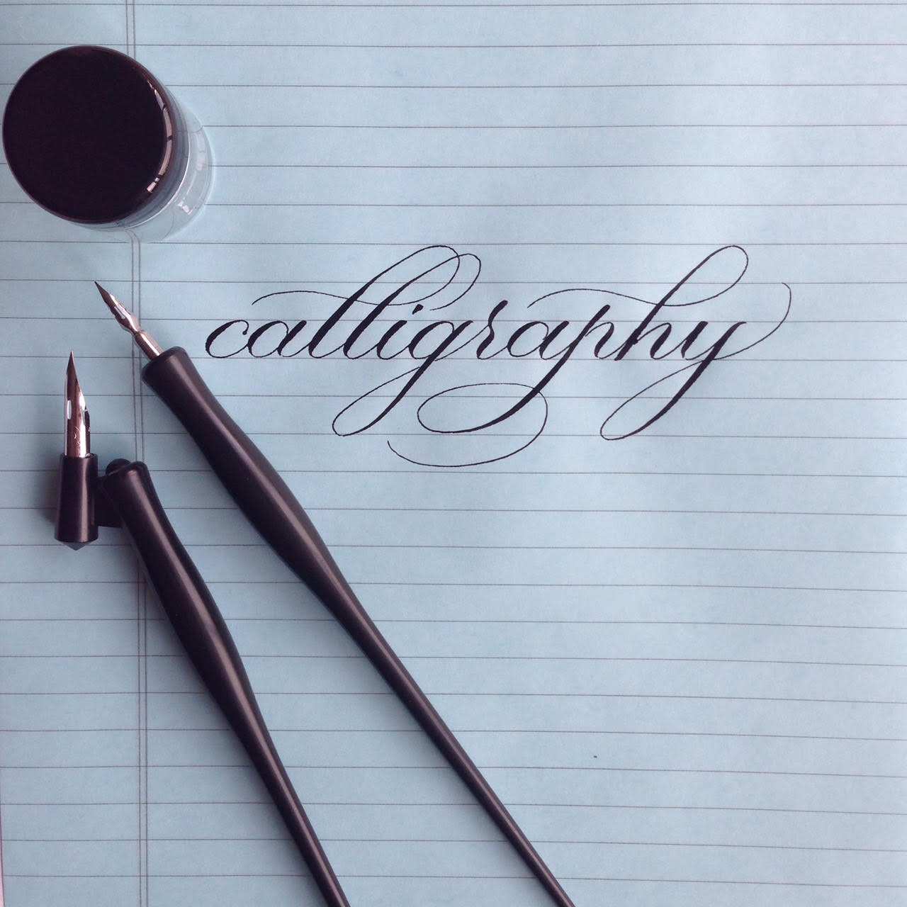 Intro To Pointed Pen Calligraphy